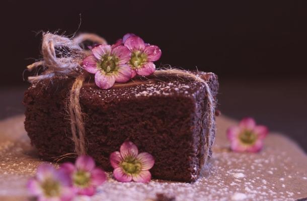 koláčik brownie